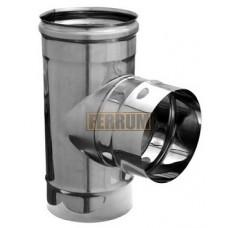 Тройник-90° Ф100 430-0,5 мм